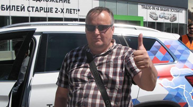 В Ростове прошел первый тест-драйв ŠKODA Kodiaq