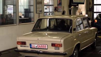 Старый ВАЗ удивил немецких автомехаников. Видео