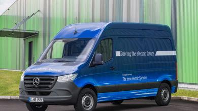 Mercedes-Benz перевел фургон Sprinter на электротягу