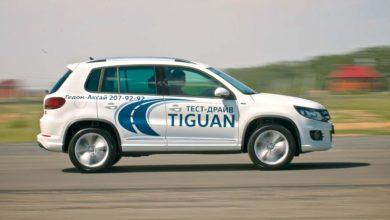 Volkswagen Tiguan: фигуры пилотажа