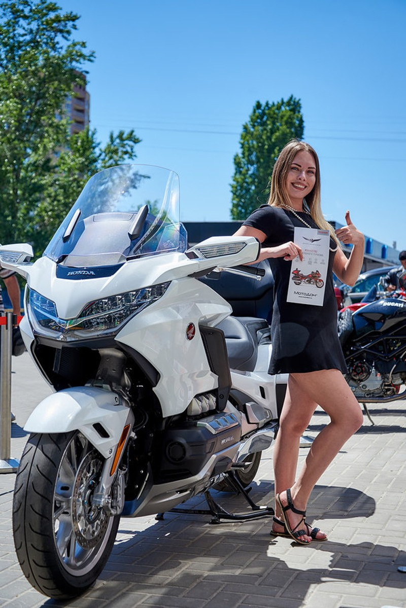 Honda Red Day 2018 в ростовском салоне МотоДон: драйв и яркие эмоции
