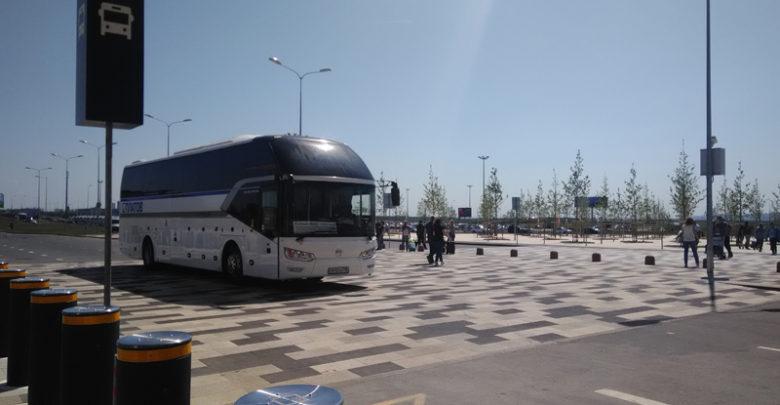 Ростовчане теперь могут доехать до аэропорта «Платов» на больших автобусах