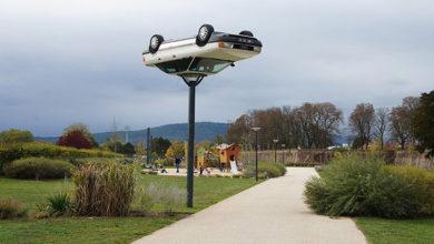 Художник превращает старые автомобили в шедевры. Фото
