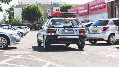 Старушка на Toyota Corolla приехала в Лондон из Южной Африки