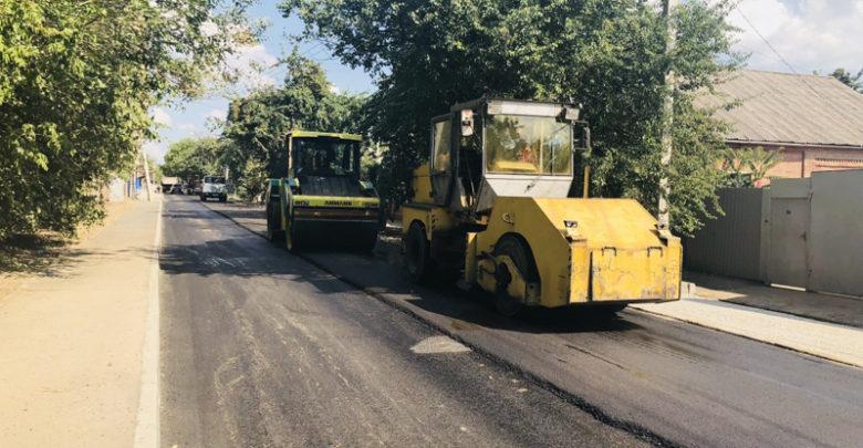 Ремонт дороги на Тибетской в Ростове завершится раньше срока. Фото