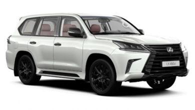 Lexus LX получил новую спецверсию в России