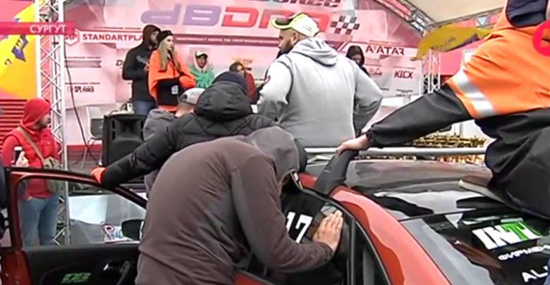 В Сургуте любители автозвука мерились децибелами. Видео