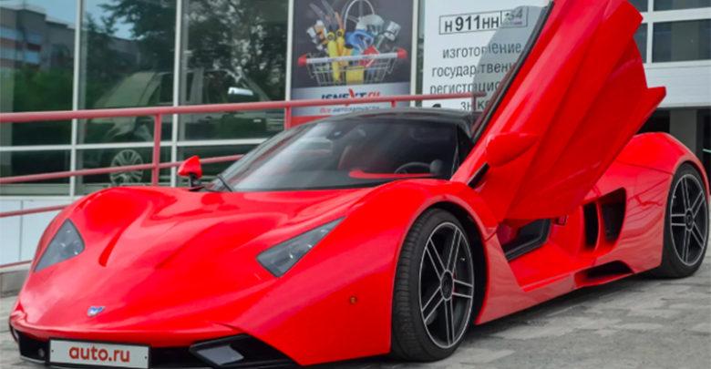 Первая модель компании Marussia Motors появилась в продаже на Авто.ру