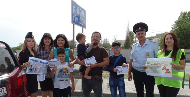 Полицейские объяснили водителям-родителям о правилах перевозки детей