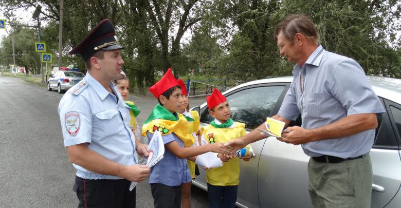 В Ростовской области дети напоминают взрослым о ПДД