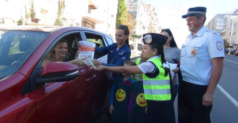 Ростовские госавтоинспекторы провели акцию со смайликами. Фото
