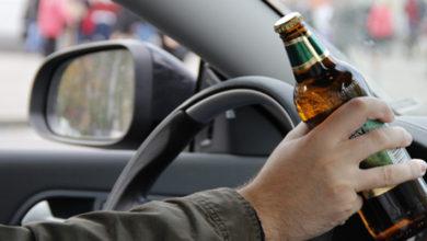 сел за руль пьяный