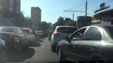 Из-за ДТП в Ростове образовались огромные пробки