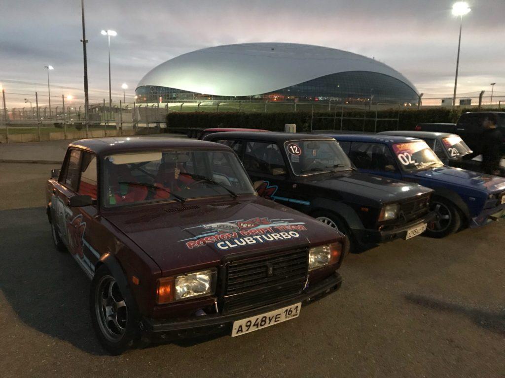Пилоты RDT Clubturbo поделились впечатлениями от соревнований в Сочи