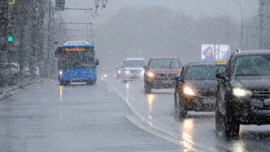 Из-за снегопада в Ростове образовались десятибальные пробки