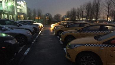 Таксисты бастуют?