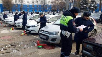 Ростовские госавтоинспекторы