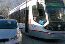 В Ростове зону остановки трамваев выделят с помощью специальной разметки