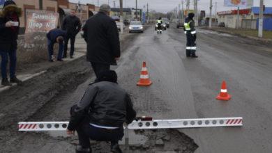 Рейд: на дорогах в Батайске нашли огромные ямы
