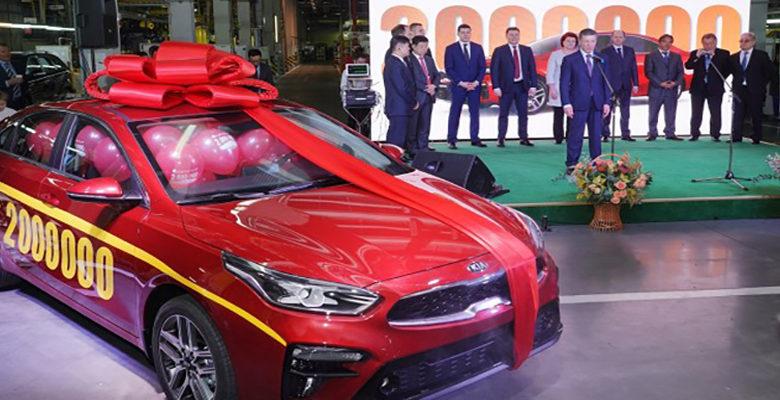 Калининградский «Автотор» выпустил 2-милионный автомобиль