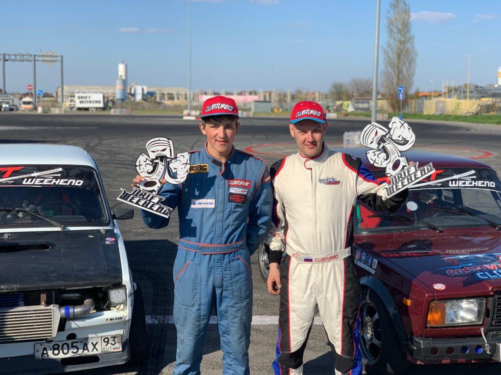 DRIFT WEEKEND в Ростове: команда RDT Clubturbo заняла первое место!