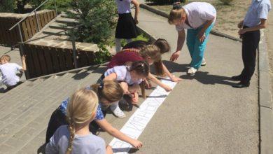 Юные инспекторы движения провели для школьников экскурсию «Безопасный переход»