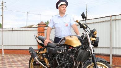 Инспектор ДПС по Сальскому району рассказал о любви к мотоциклам