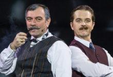 Музтеатр приглашает на мюзикл «Шерлок Холмс и пляшущие человечки»
