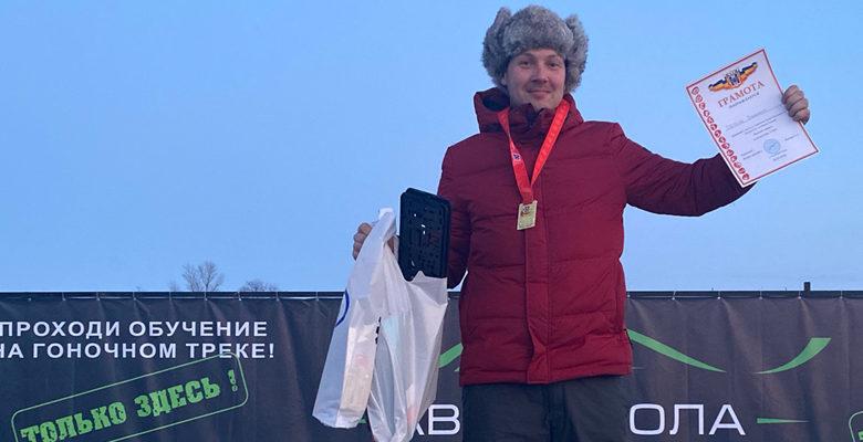 гонщик Владимир Третьяк