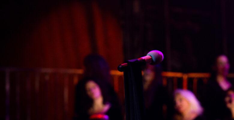 микрофон, театр, концерт