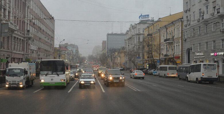 Ростов, дорога, транспорт