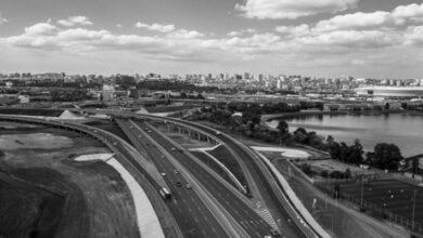 первый этап реконструкции Южного подъезда к Ростову