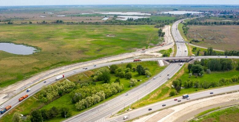 Схема движения на участке Южного подъезда к Ростову изменена