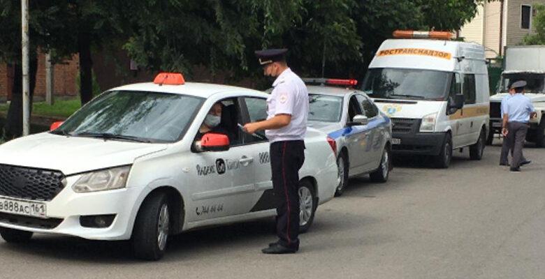 такси, рейд в Ростове