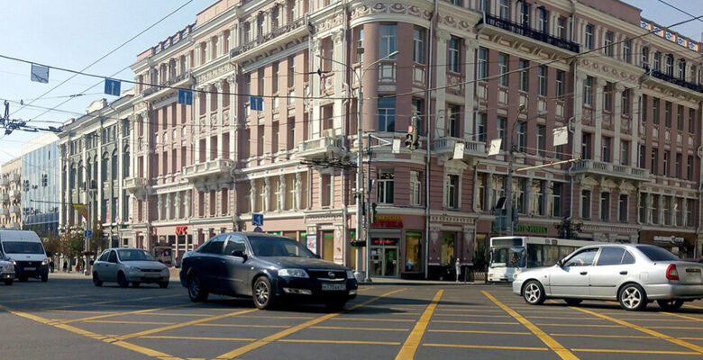 Ростов, авто, дорога, угнал машину